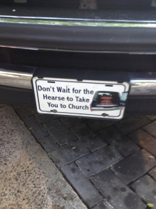 Spotted yesterday on a F-150 in downtown Aiken.